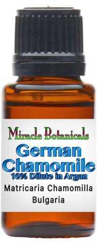 Chamomile German Essential Oil (Blue Chamomile) 10% Dilute