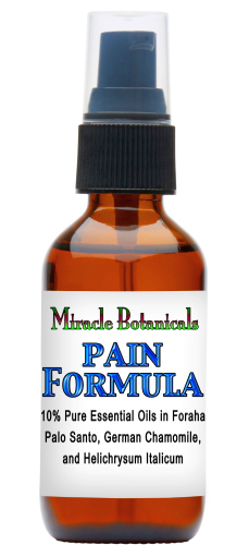 Essential Oil Pain Relief Formula - 10% or 20% Dilute