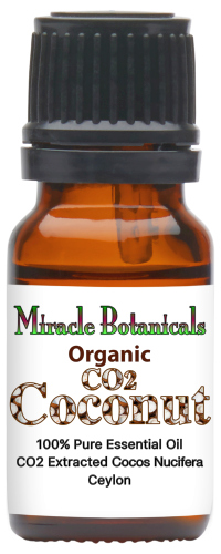 Coconut Essential Oil - Organic - CO2 Extracted