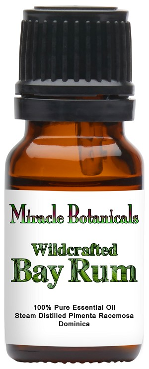 Wildcrafted Bay Rum Essential Oil