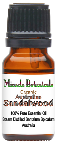 Sandalwood Essential Oil - Organic - Australia