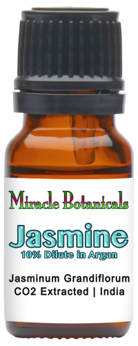 Jasmine Essential Oil - CO2 Extracted - 10% Dilute in Argan