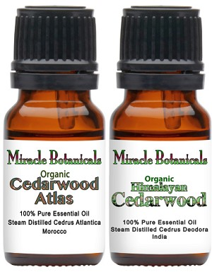 Cedarwood Essential Oil Set