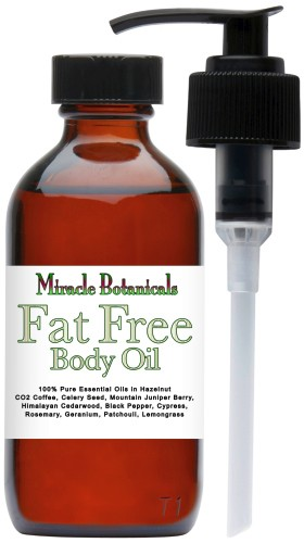 Fat Free Body Oil - Cellulite Reducing Formula