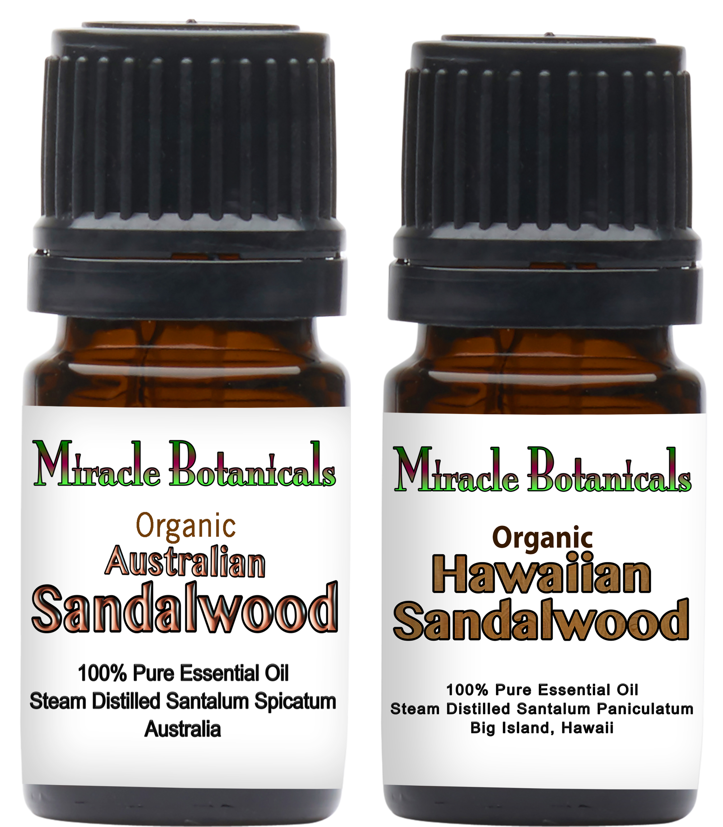 Organic Sandalwood Set